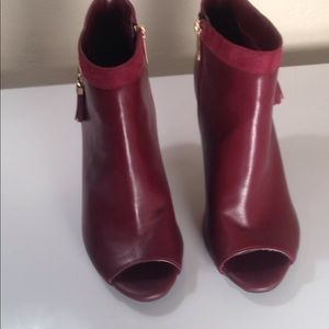 Shoes - Wine ankle boots